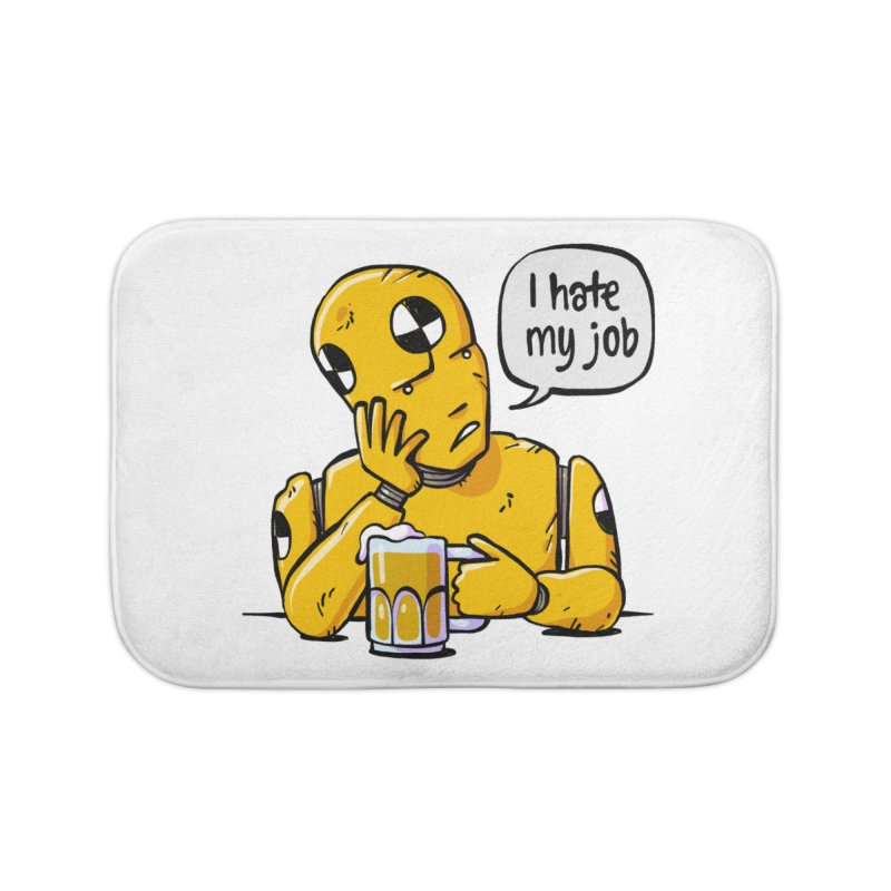 Unhappy Hour Home Bath Mat by Freehand