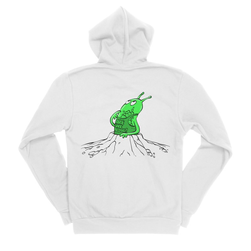 Are We Alone? Women's Zip-Up Hoody by Freehand