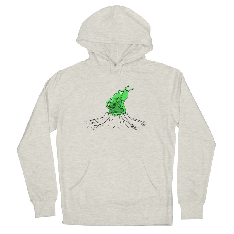 Are We Alone? Women's Pullover Hoody by Freehand