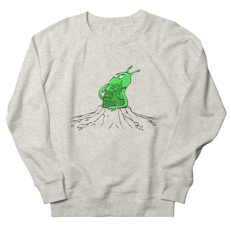 Are We Alone? Men's Sweatshirt by Freehand