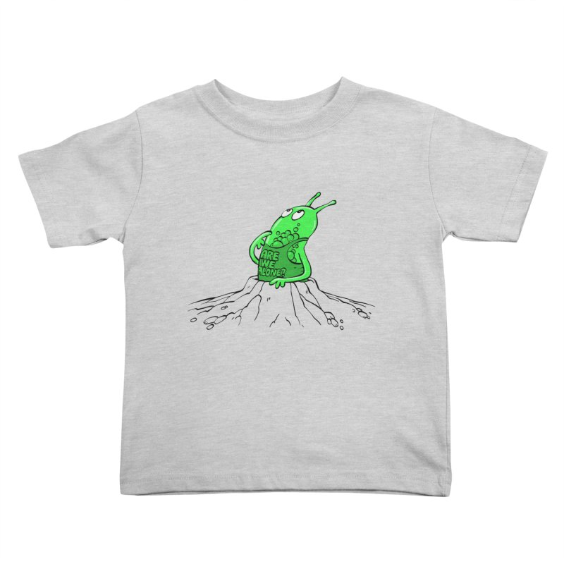 Are We Alone? Kids Toddler T-Shirt by Freehand
