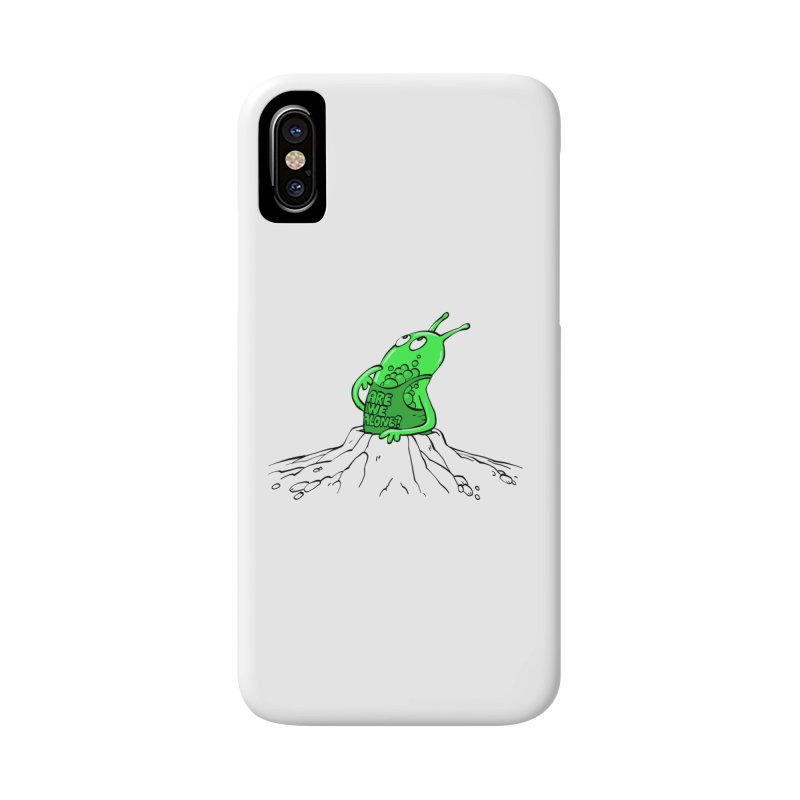 Are We Alone? Accessories Phone Case by Freehand