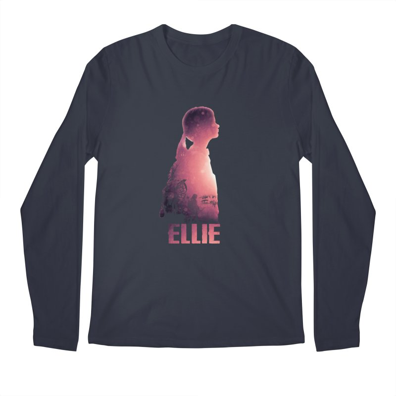 ELLIE Men's Longsleeve T-Shirt by freeimagination's Artist Shop