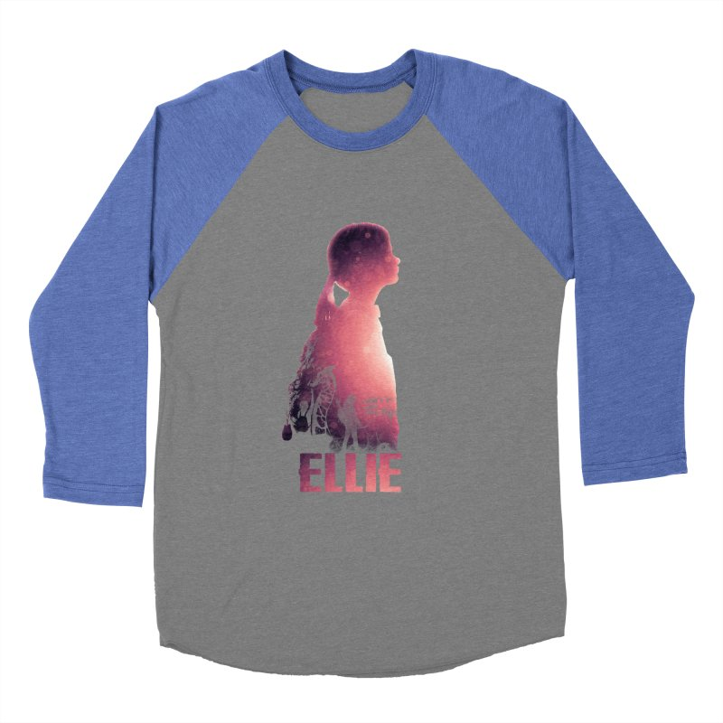 ELLIE Women's Baseball Triblend T-Shirt by freeimagination's Artist Shop