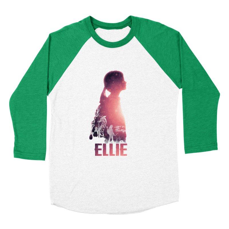 ELLIE Men's Baseball Triblend T-Shirt by freeimagination's Artist Shop