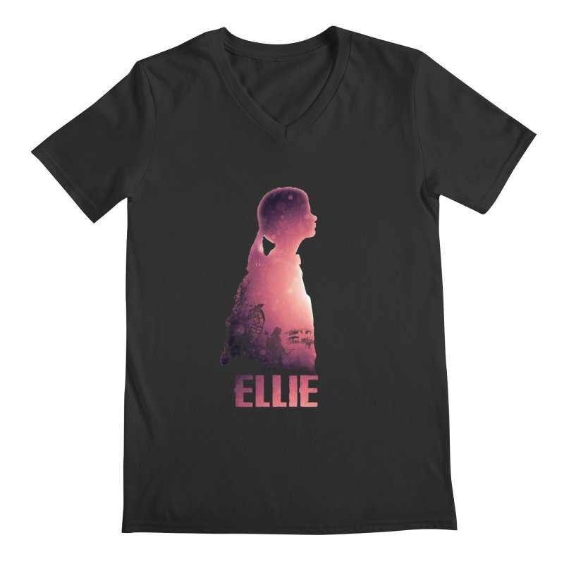ELLIE Men's V-Neck by freeimagination's Artist Shop