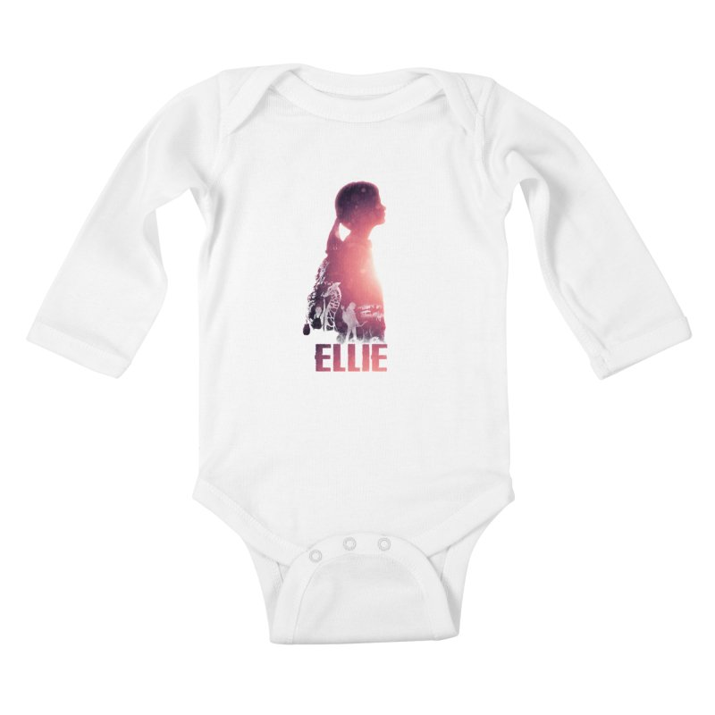 ELLIE Kids Baby Longsleeve Bodysuit by freeimagination's Artist Shop