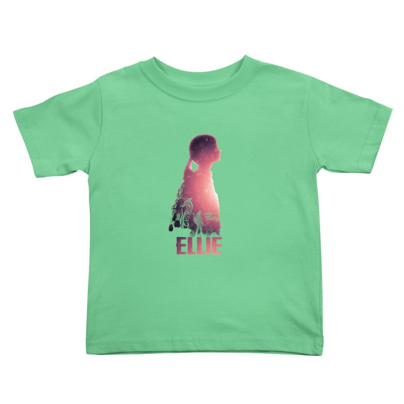ELLIE Kids Toddler T-Shirt by freeimagination's Artist Shop