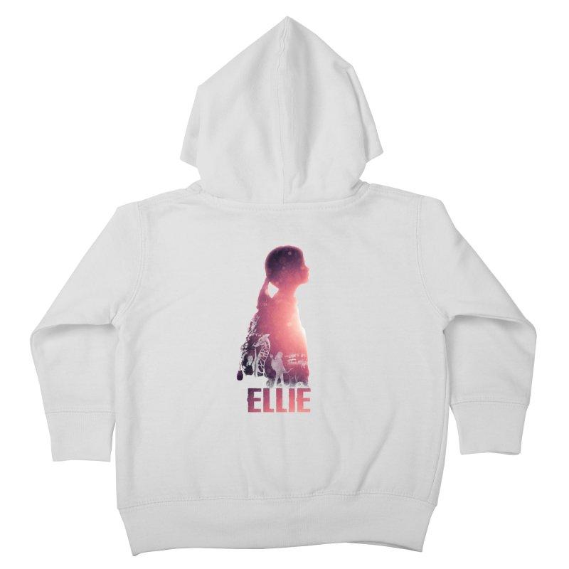 ELLIE Kids Toddler Zip-Up Hoody by freeimagination's Artist Shop