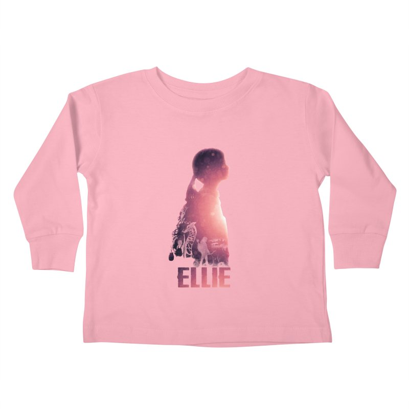 ELLIE Kids Toddler Longsleeve T-Shirt by freeimagination's Artist Shop