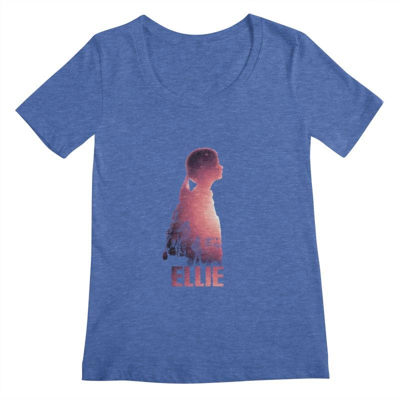 ELLIE Women's Scoopneck by freeimagination's Artist Shop