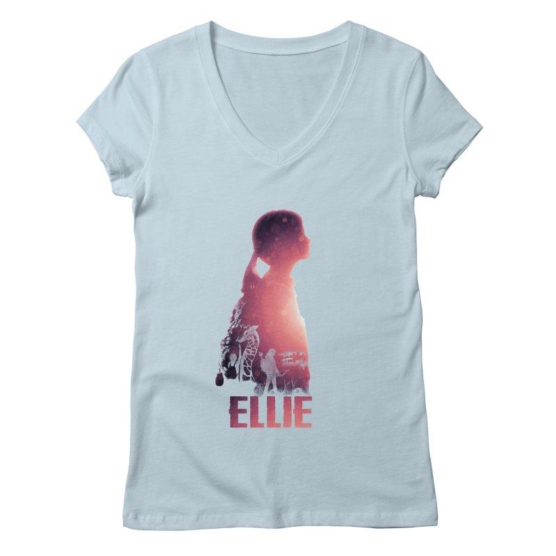 ELLIE Women's V-Neck by freeimagination's Artist Shop