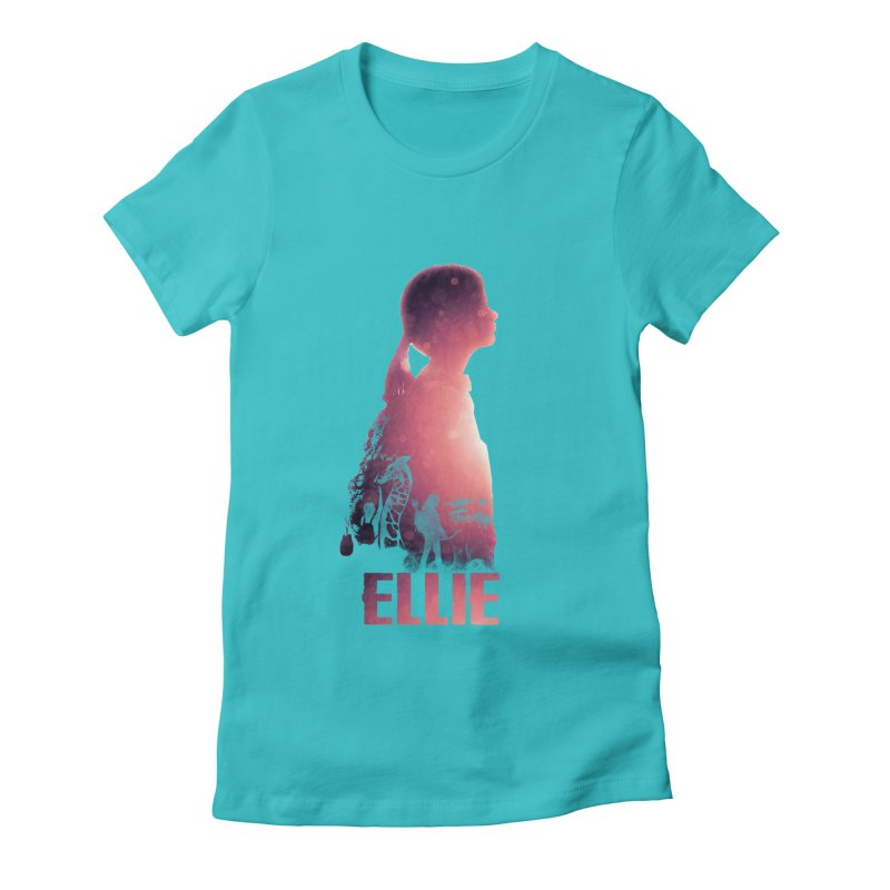 ELLIE Women's Fitted T-Shirt by freeimagination's Artist Shop