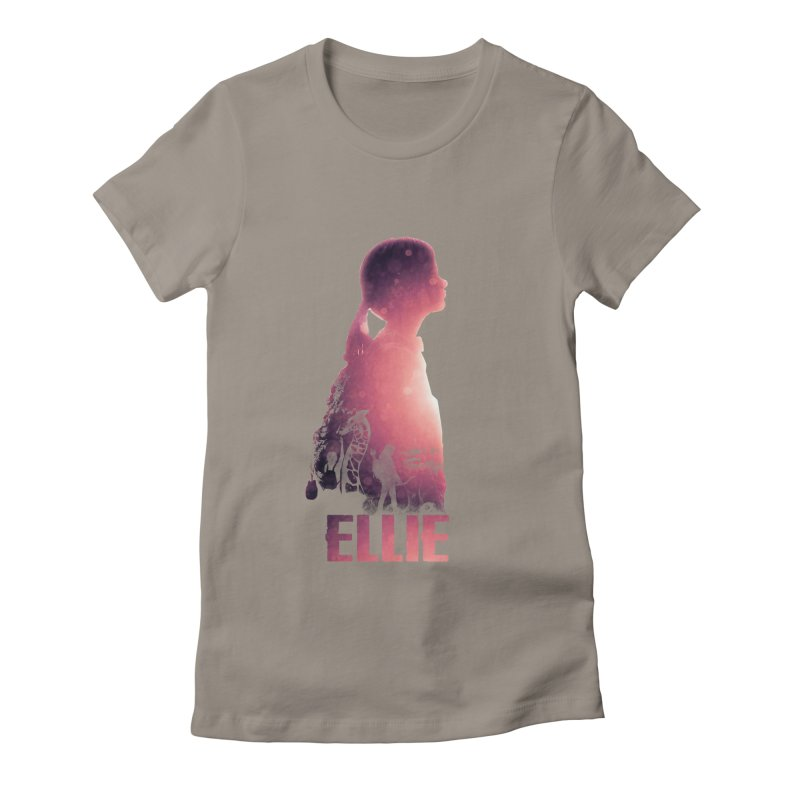 ELLIE Women's Fitted T-Shirt by freeimagination's Artist Shop