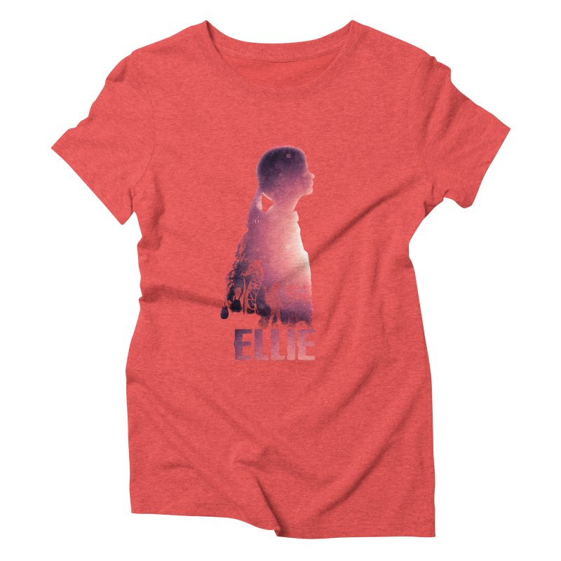 ELLIE Women's Triblend T-Shirt by freeimagination's Artist Shop