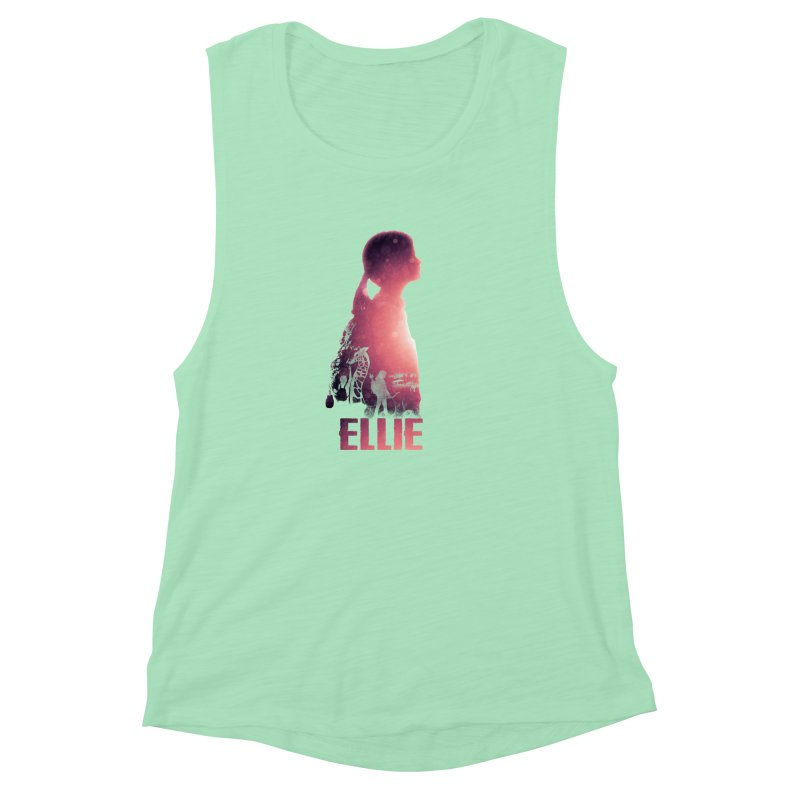 ELLIE Women's Muscle Tank by freeimagination's Artist Shop