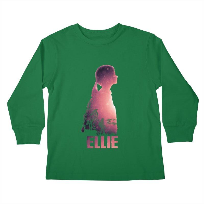 ELLIE Kids Longsleeve T-Shirt by freeimagination's Artist Shop