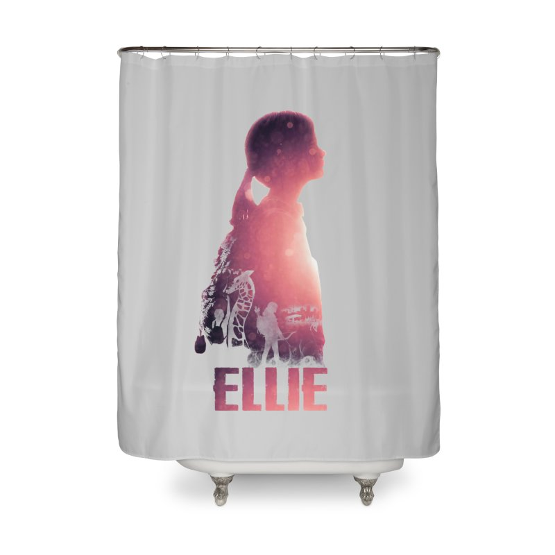 ELLIE Home Shower Curtain by freeimagination's Artist Shop