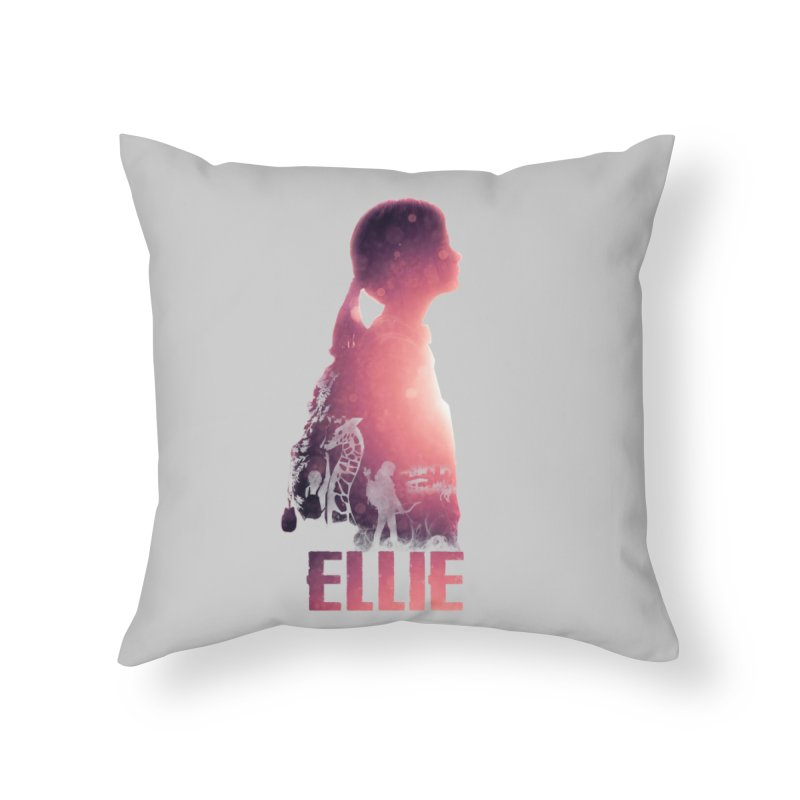 ELLIE Home Throw Pillow by freeimagination's Artist Shop