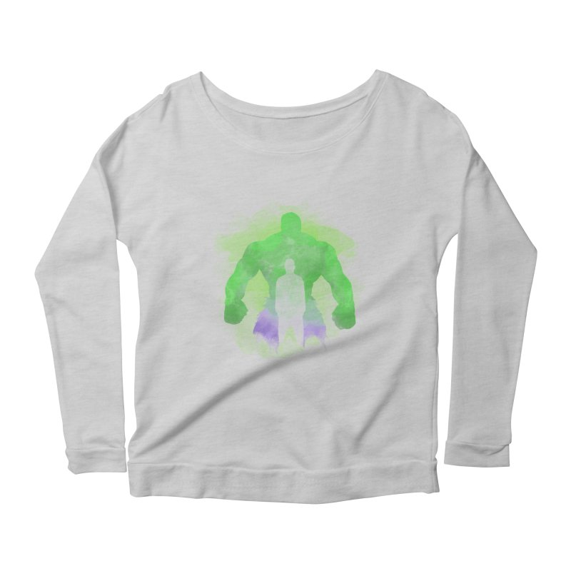 As One We Stand Women's Longsleeve Scoopneck  by freeimagination's Artist Shop