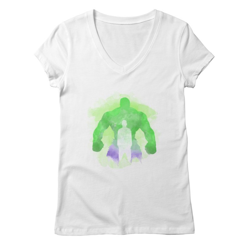 As One We Stand Women's V-Neck by freeimagination's Artist Shop