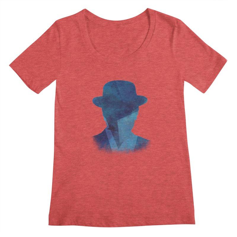 Heisenberg Women's Scoopneck by freeimagination's Artist Shop