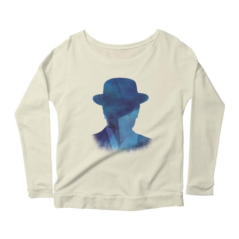 Heisenberg Women's Longsleeve Scoopneck  by freeimagination's Artist Shop