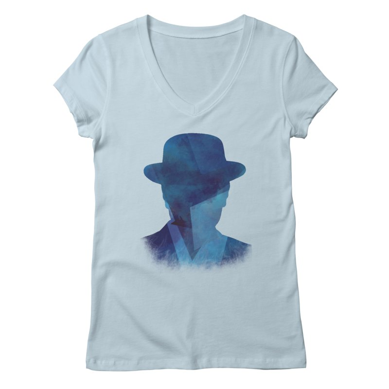 Heisenberg Women's V-Neck by freeimagination's Artist Shop