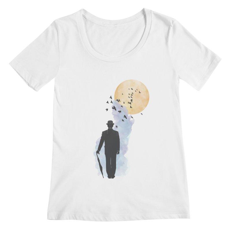 Free Birds Women's Scoopneck by freeimagination's Artist Shop