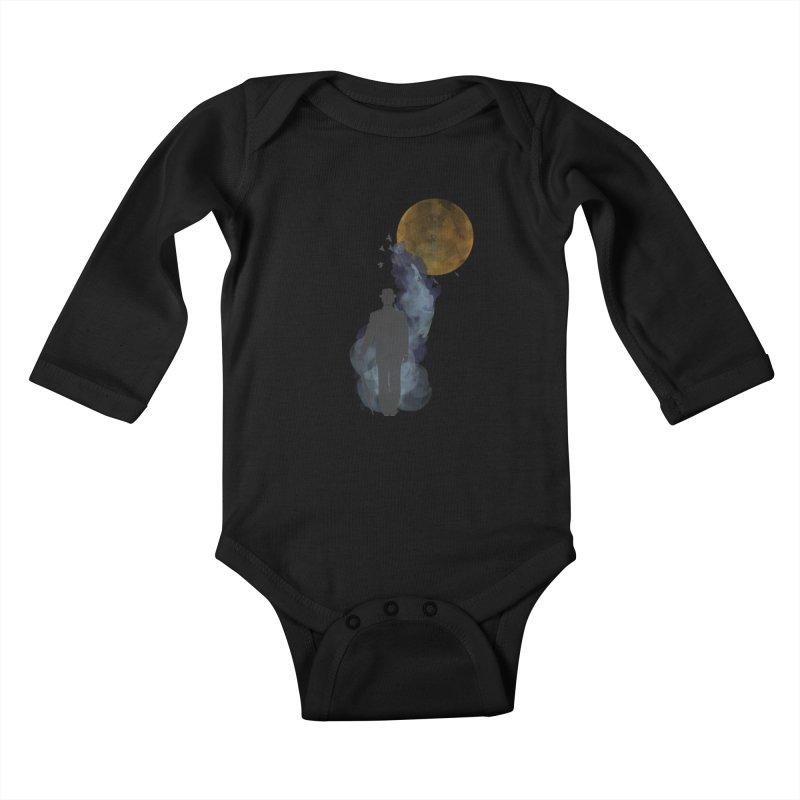 Free Birds Kids Baby Longsleeve Bodysuit by freeimagination's Artist Shop