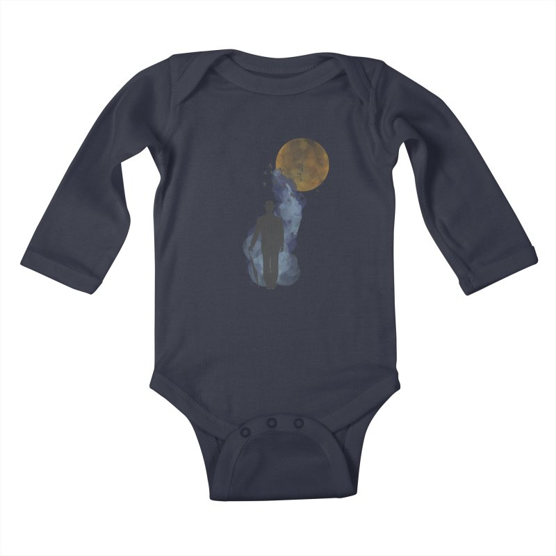 Free Birds Kids Baby Longsleeve Bodysuit by freeimagination's Artist Shop