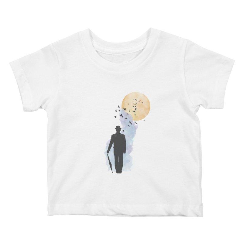 Free Birds Kids Baby T-Shirt by freeimagination's Artist Shop