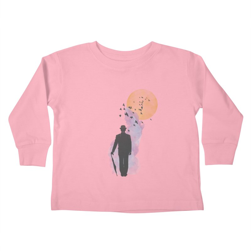 Free Birds Kids Toddler Longsleeve T-Shirt by freeimagination's Artist Shop