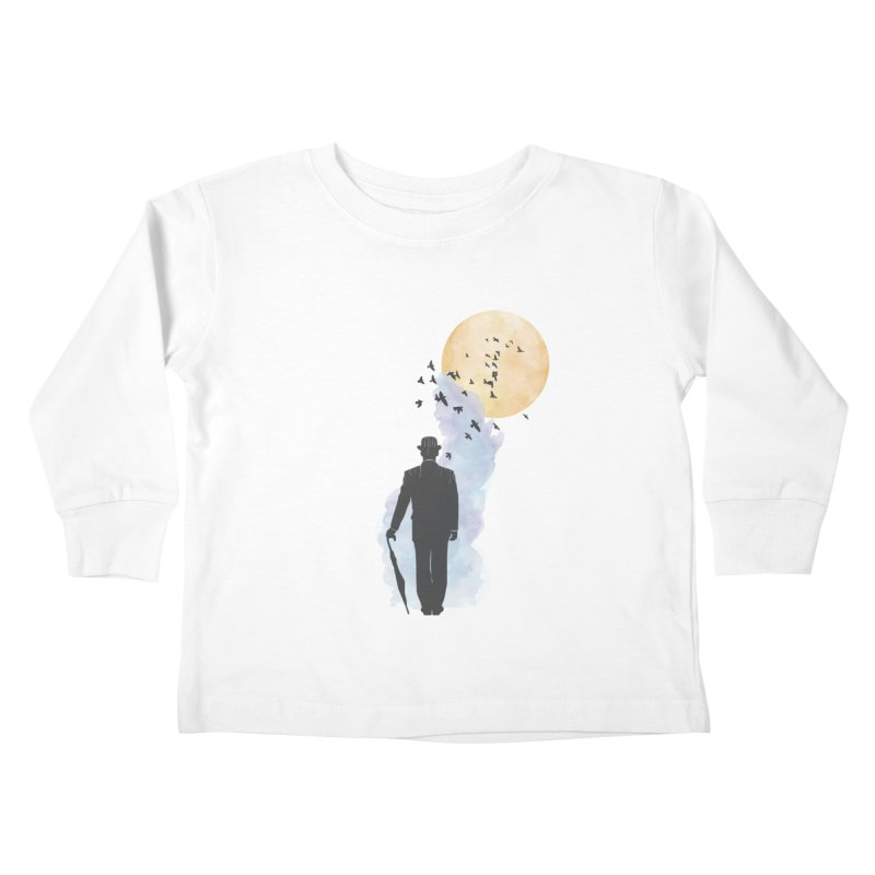 Free Birds Kids Toddler Longsleeve T-Shirt by freeimagination's Artist Shop