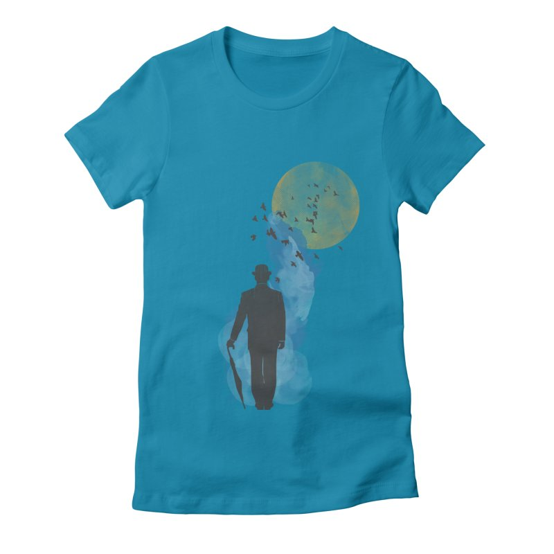 Free Birds Women's Fitted T-Shirt by freeimagination's Artist Shop