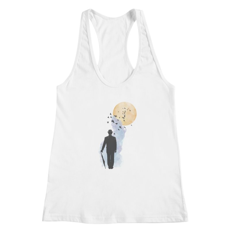 Free Birds Women's Racerback Tank by freeimagination's Artist Shop