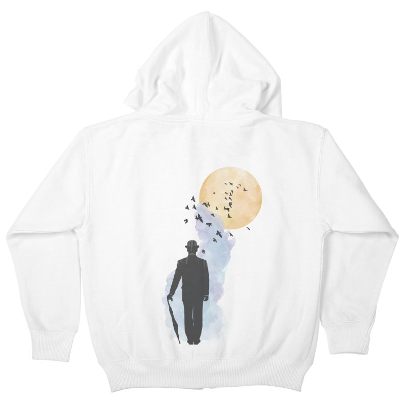 Free Birds Kids Zip-Up Hoody by freeimagination's Artist Shop