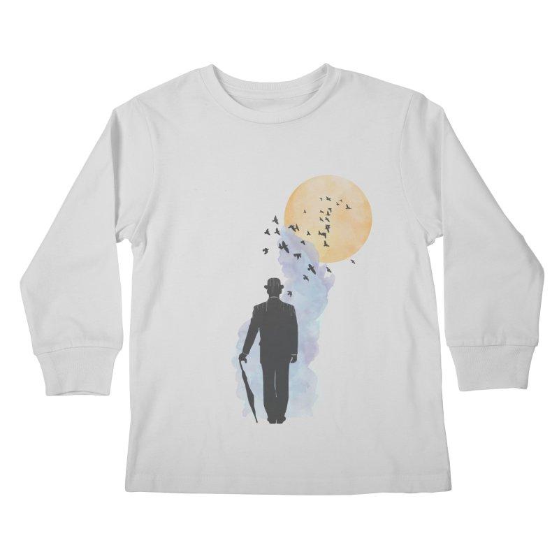 Free Birds Kids Longsleeve T-Shirt by freeimagination's Artist Shop