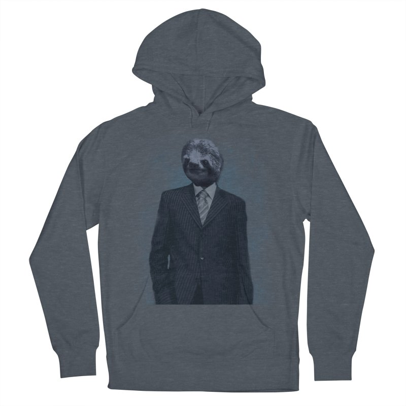 Slow Business Men's Pullover Hoody by freeimagination's Artist Shop