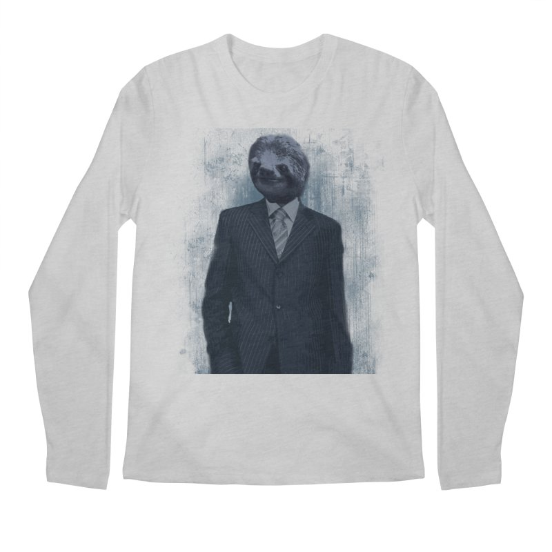 Slow Business Men's Longsleeve T-Shirt by freeimagination's Artist Shop