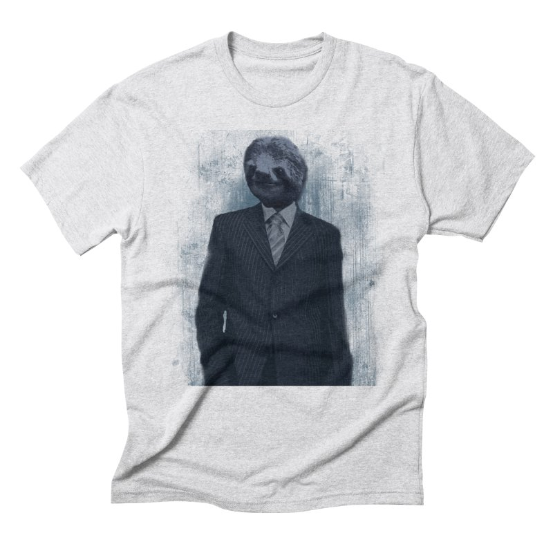 Slow Business Men's Triblend T-Shirt by freeimagination's Artist Shop