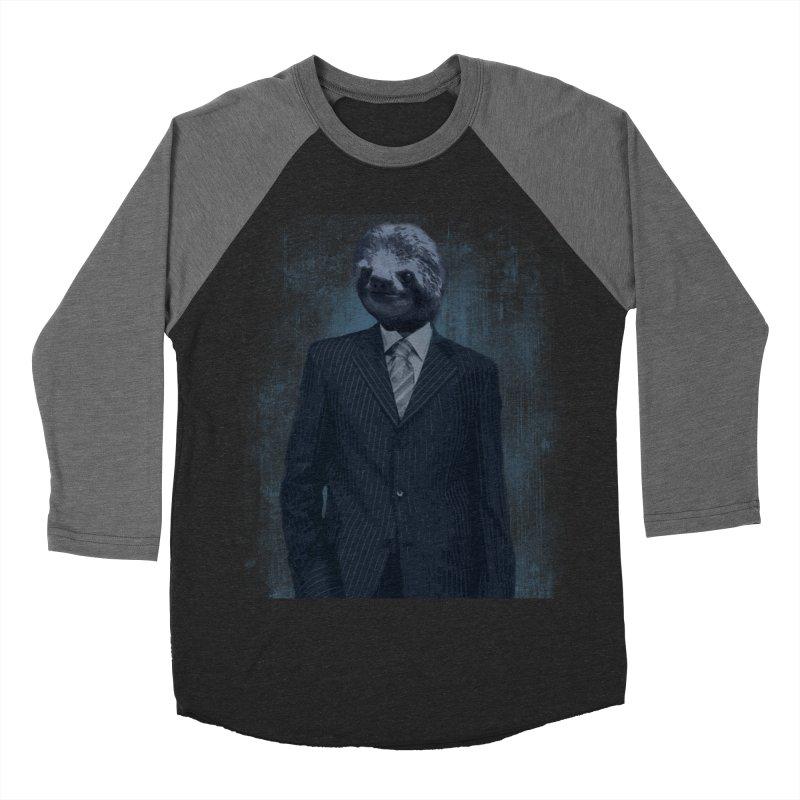 Slow Business Men's Baseball Triblend T-Shirt by freeimagination's Artist Shop
