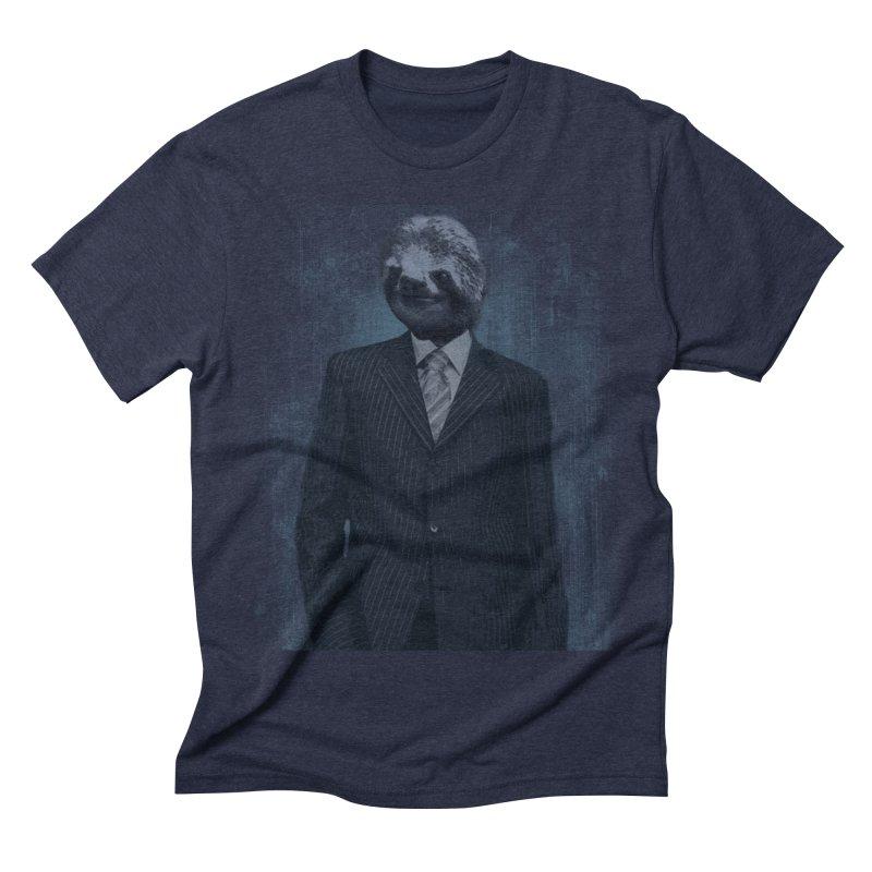 Slow Business Men's Triblend T-shirt by freeimagination's Artist Shop
