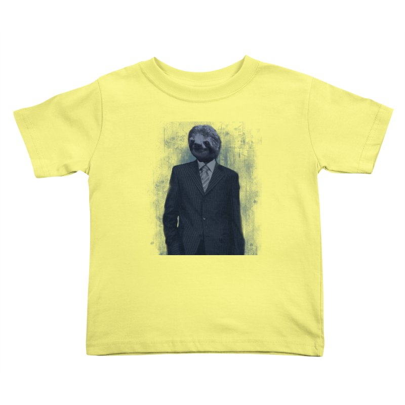 Slow Business Kids Toddler T-Shirt by freeimagination's Artist Shop