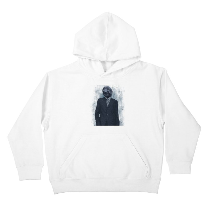 Slow Business Kids Pullover Hoody by freeimagination's Artist Shop