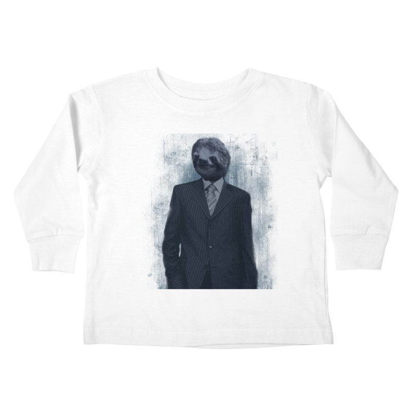 Slow Business Kids Toddler Longsleeve T-Shirt by freeimagination's Artist Shop