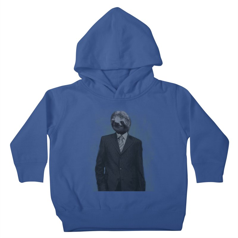 Slow Business Kids Toddler Pullover Hoody by freeimagination's Artist Shop