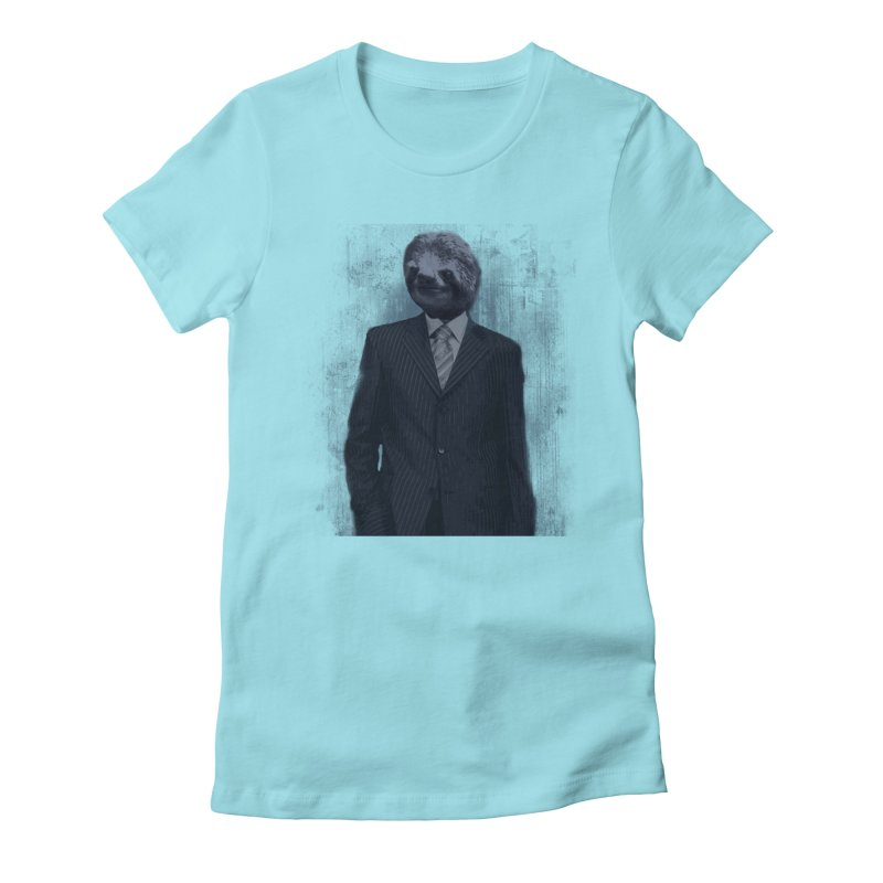 Slow Business Women's Fitted T-Shirt by freeimagination's Artist Shop