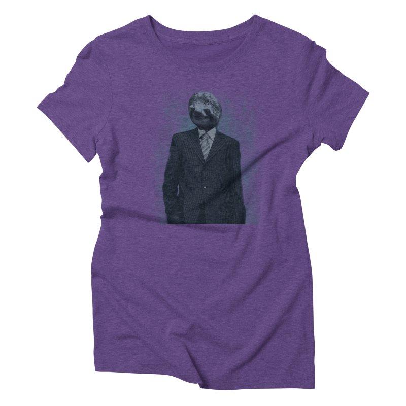 Slow Business Women's Triblend T-shirt by freeimagination's Artist Shop