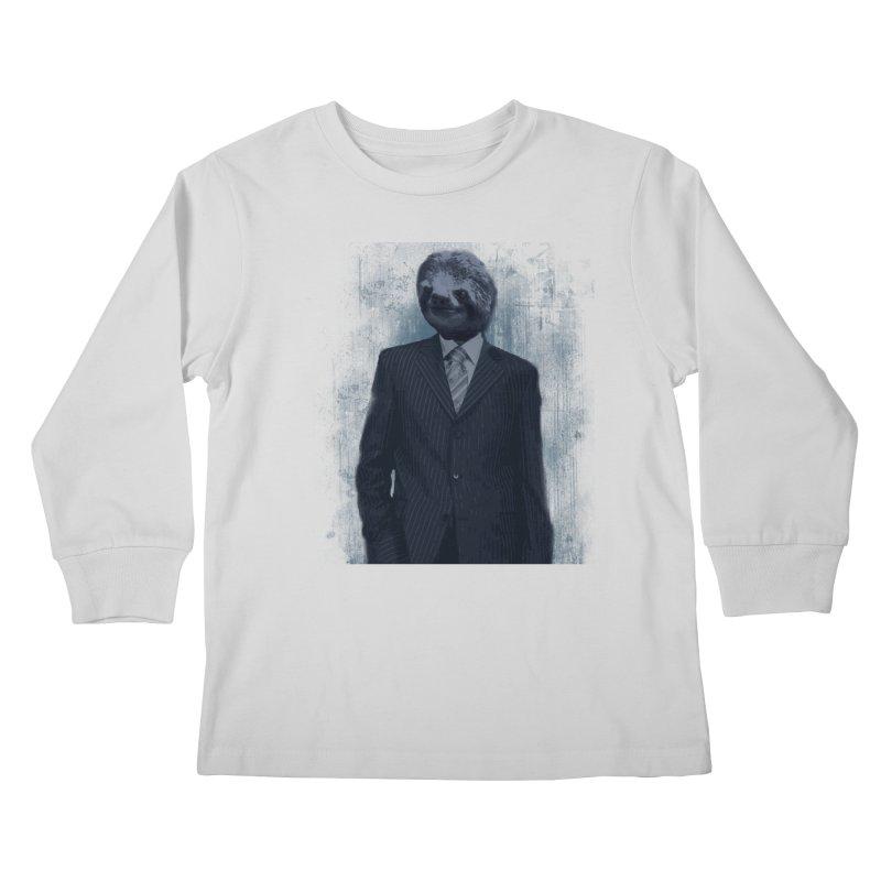 Slow Business Kids Longsleeve T-Shirt by freeimagination's Artist Shop